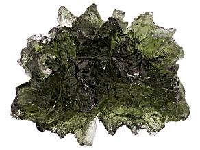 Moldavite 25.3x19mm Specimen 4.66g