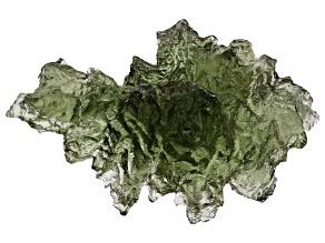 Moldavite 15x15mm Specimen 1.21g