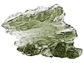 Moldavite 31.4x24mm Specimen 2.88g