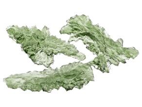 Moldavite Specimen Set of 3 4.94g