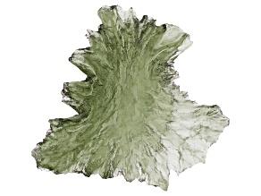 Moldavite 29.40x28.20mm Specimen 5.67g