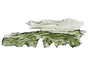 Moldavite 43.69x14.6mm Specimen 1.884g