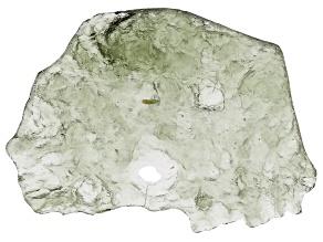 Moldavite 32x23.6mm Specimen 1.80g