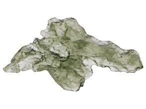 Moldavite 34.8x18mm Specimen 1.40g