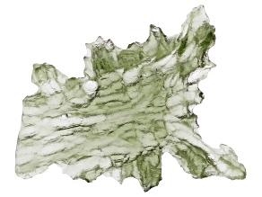 Moldavite 27.6x21.85mm Specimen 4.32g