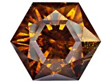 Sphalerite 23mm Hexagon Custom Cut 73.42ct