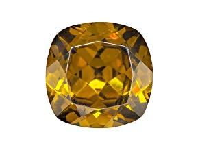 Sphalerite 13mm Square Cushion Diamond Cut 9.48ct