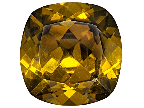 Sphalerite 12mm Square Cushion Diamond Cut 8.05ct