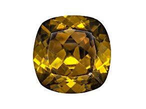 Sphalerite 12mm Square Cushion Diamond Cut 8.05ct