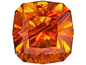 Sphalerite 10.8mm Square Cushion Diamond Cut 7.91ct