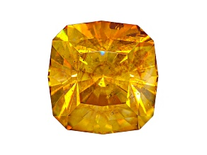 Sphalerite 10.4mm Square Cushion Diamond Cut 7.22ct