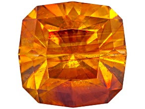Sphalerite 11.1mm Square Cushion Diamond Cut 8.01ct