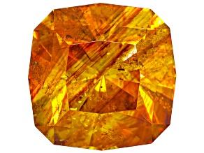 Sphalerite 11mm Square Cushion Diamond Cut 8.15ct