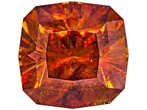 Sphalerite 10.8mm Square Cushion Diamond Cut 7.97ct