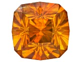 Sphalerite 11.6mm Square Cushion Modified Brilliant 9.77ct