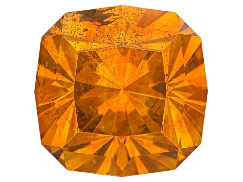 Sphalerite 9.4mm Square Cushion Custom Cut 5.22ct