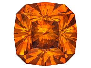 Sphalerite 11.5mm Square Cushion Custom Cut 9.73ct