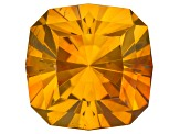 Sphalerite 11.8mm Square Cushion Custom Cut 9.41ct
