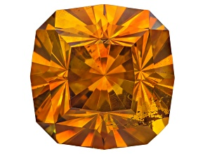 Sphalerite 13.7mm Square Cushion Custom Cut 15.97ct