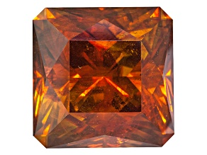 Sphalerite 20.6x20.6mm Square Octagonal Princess Cut 62.53ct