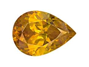 Yellow Sphalerite 15.5x11mm Pear Shape 9.35ct
