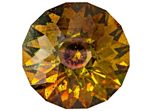 Sphalerite 25mm Round Diamond Cut 66.33ct