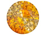 Sphalerite 9mm Round Brilliant Cut 3.60ct