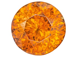 Sphalerite 9mm Round Brilliant 3.82ct