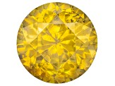 Sphalerite 6.5mm Round 1.25ct