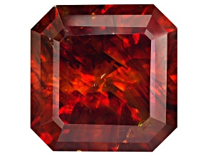 Sphalerite 20mm Square Octagonal Custom Cut 50.26ct