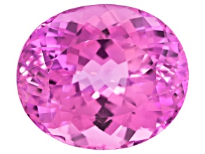 Kunzite Oval Portuguese Cut 34.64ct