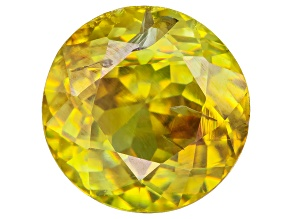 Sphene 6.5mm Round 1.10ct