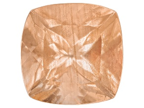 Peach Sunstone 7mm Square Cushion 1.25ct