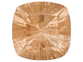 Peach Sunstone 10mm Square Cushion 3.70ct