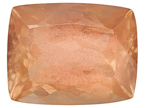 Peach Sunstone 9x7mm Rectangular Cushion 1.75ct