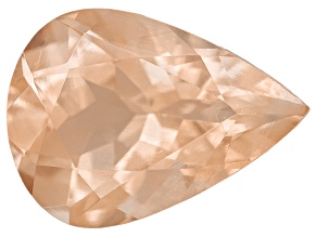 Peach Sunstone 8x6mm Pear Shape .90ct