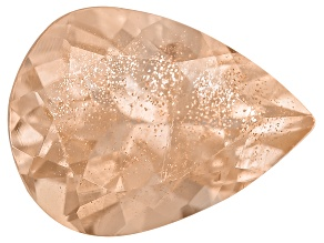 Peach Sunstone 9x7mm Pear Shape 1.25ct