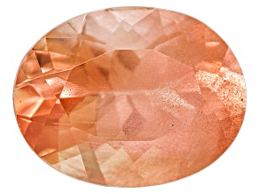 Peach Sunstone 9x7mm Oval 1.50ct