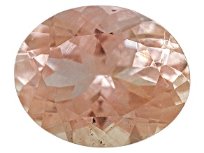 Peach Sunstone 10x8mm Oval 2.15ct