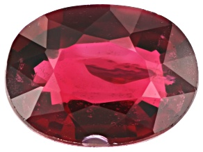 Red Spinel 8x6mm Oval 1.36ct