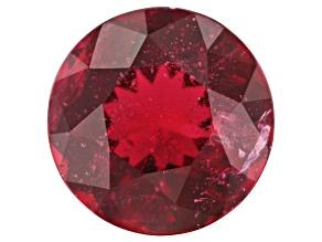 0.63ct Red Spinel 5.7mm Round