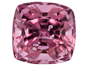 Lavender Spinel 6mm Square Cushion Mixed Step Cut 1.45ct