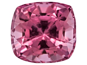 Pink Spinel 6mm Square Cushion Mixed Step Cut 1.25ct