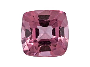 Lavender Spinel 6mm Square Cushion Mixed Step Cut 1.10ct