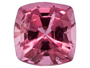 Pink Spinel Square Cushion Mixed Step Cut .90ct
