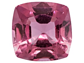 Pink Spinel 5.5mm Square Cushion Mixed Step Cut 1.00ct