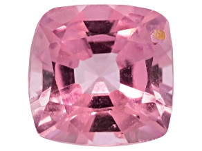 Pink Spinel 5.5mm Square Cushion Mixed Step Cut .80ct