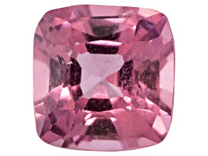 Lavender Spinel Square Cushion Mixed Step Cut .75ct