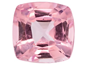 Pink Spinel Square Cushion Mixed Step Cut .75ct
