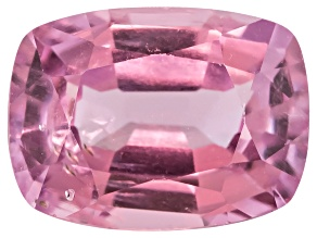 Lavender Spinel Rectangular Cushion Mixed Step Cut .90ct